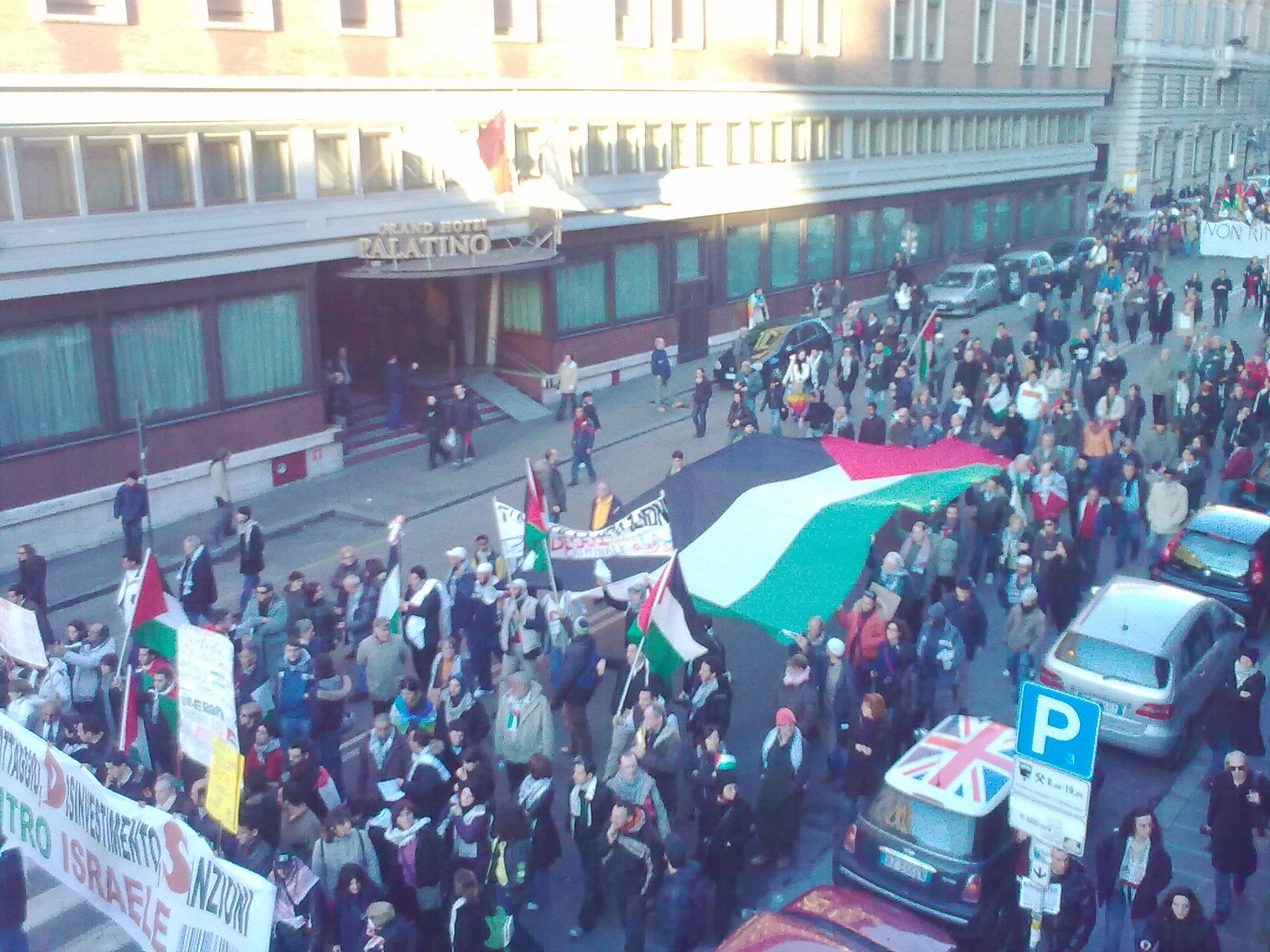 Corteo per la Palestina - 17 gennaio 2009