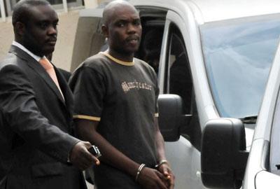 Charles Okah dopo l'arresto - Novembre 2010
