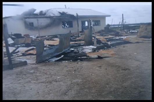 La comunità di Kurutie dopo l'attacco della JTF