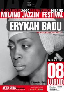 Erykah Badu, Milano Jazzin' Festival