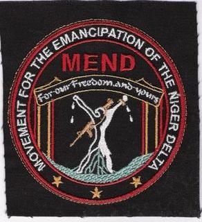 La bandiera del Mend