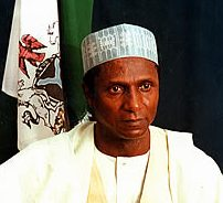 Il presidente della Nigeria Musa Yar'Adua