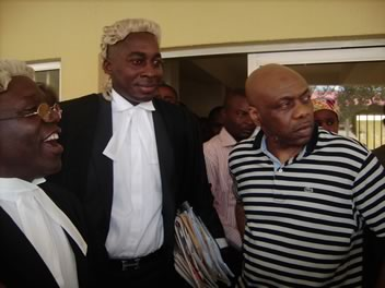 Femi Falana, Wilson Ajuwa e il leader del  MEND, Henry Okah