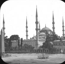 Moschea di Ahmed I, Istanbul, Turchia, 1903