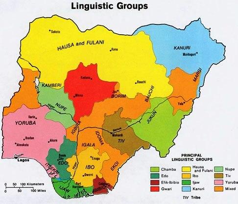 Principali popolazioni della Nigeria