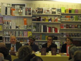 Gianni Minà, Giuseppe De Marzo, G.M.Bellu e Nicoletta Rocchi