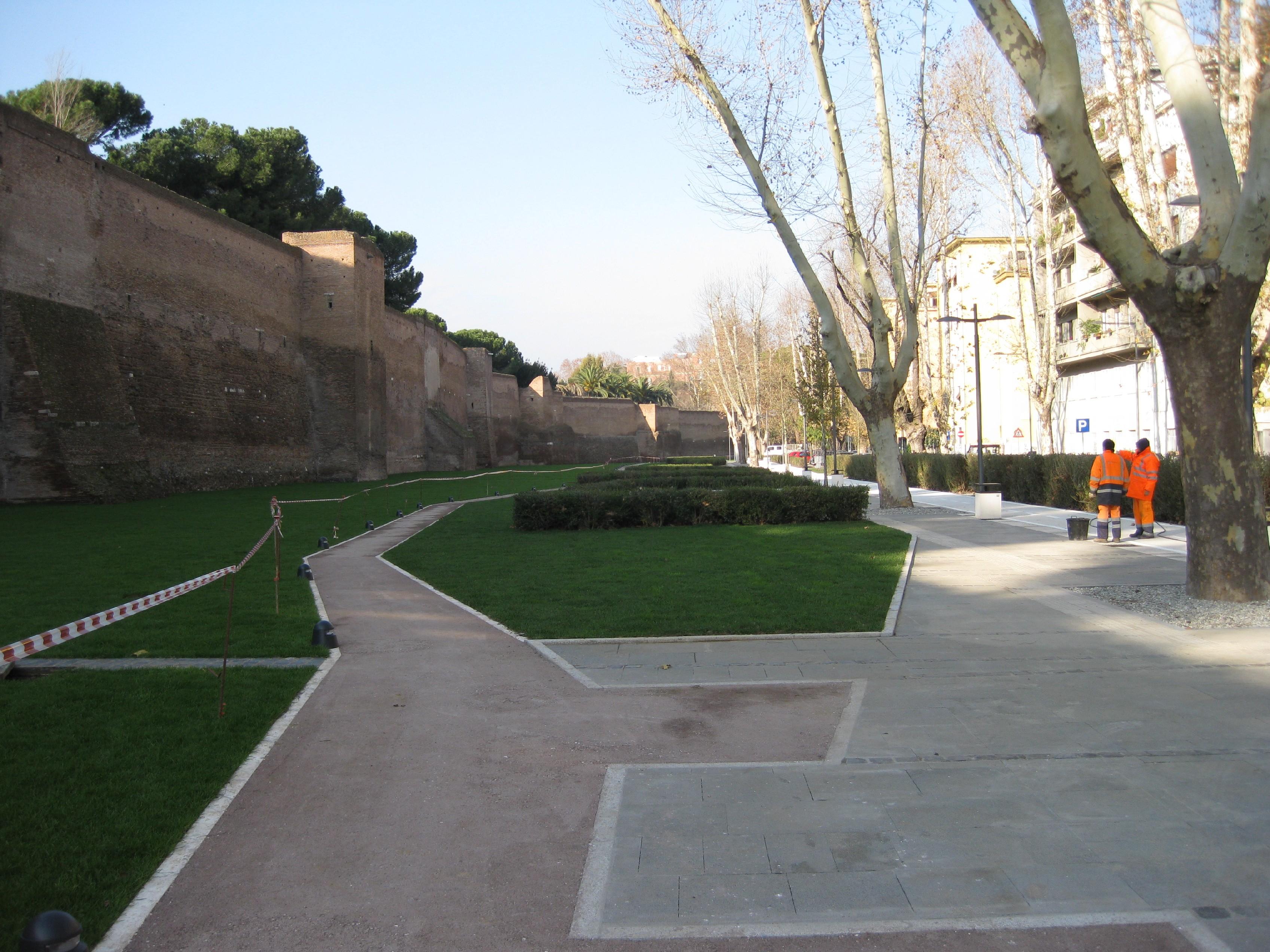 Il nuovo Parco di Porta Metronia
