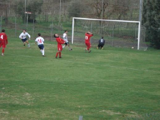 Il primo gol del San Quirico