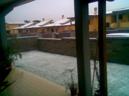 Neve ad Anzio