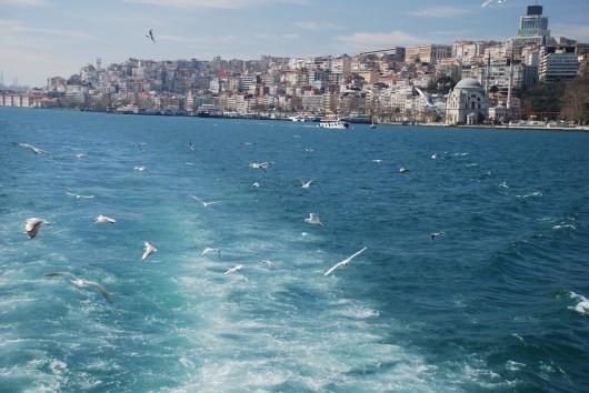 Istanbul, il Bosforo