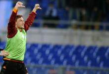 Il pollice di Francesco Totti