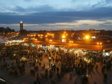 Marrakech, Place Djemaa el Fna