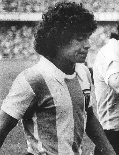Diego Armando Maradona, 1977