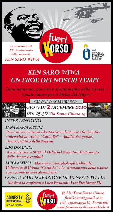 Conferenza Università di Urbino