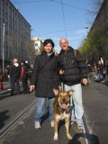 300 mila in piazza contro il nucleare, Roberto e Tex