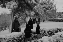 Bianco e.. neve e luce a Roma