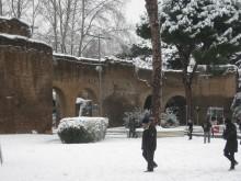 Neve a Porta Metronia