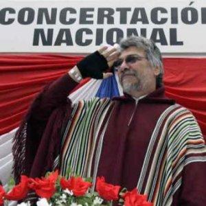 Il presidente del Paraguay Fernando Lugo