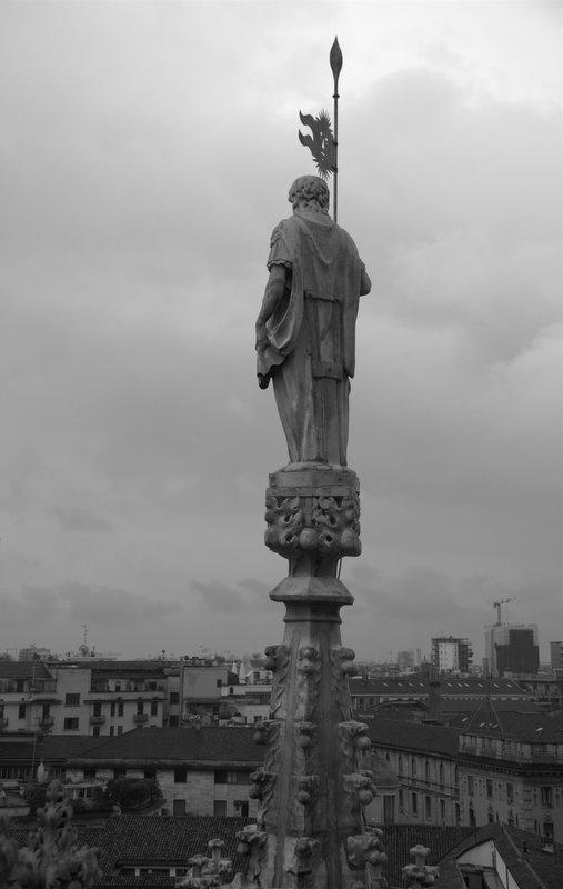 Dalle guglie del Duomo