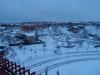 Bianco e.. neve e luce a Roma.
