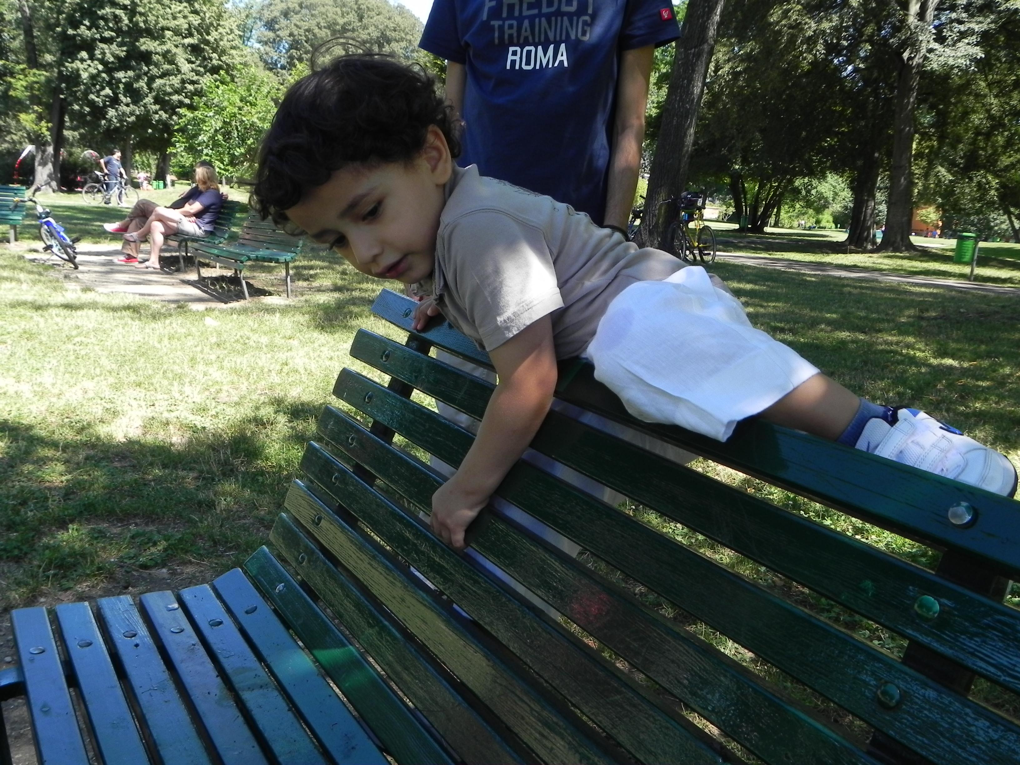 Una mattina al parco