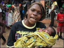 Warri - rifugiati -Foto BBC