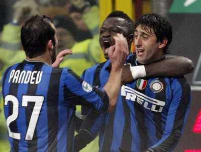 Inter Milan 2 - 0