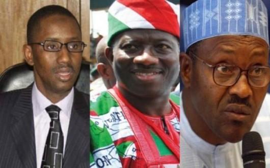 Jonathan, Ribadu e Buhari