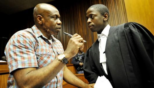 Henry Okah e il suo avvocato Lucky Molatala