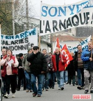 I lavoratori della Sony